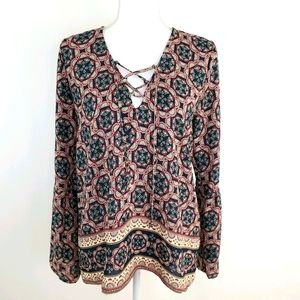 **3/$15** Abercrombie & Fitch M blouse